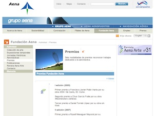 Premi AENA 2012