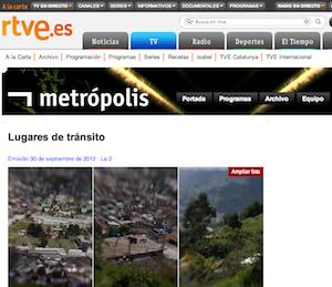 Lugares de Transito en Metropolis