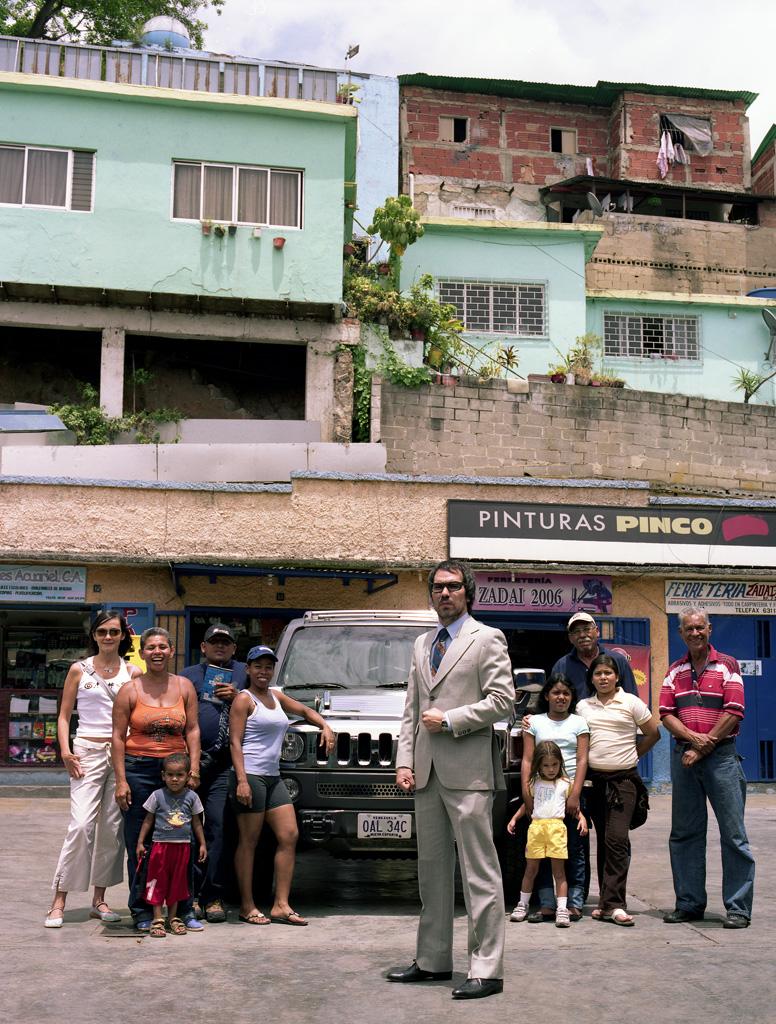 Hummer H3 en barrio La Bandera, Caracas (IV)
