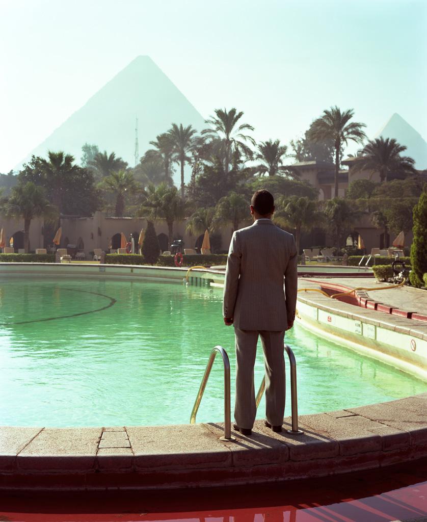 Piscina en Hotel, El Cairo.