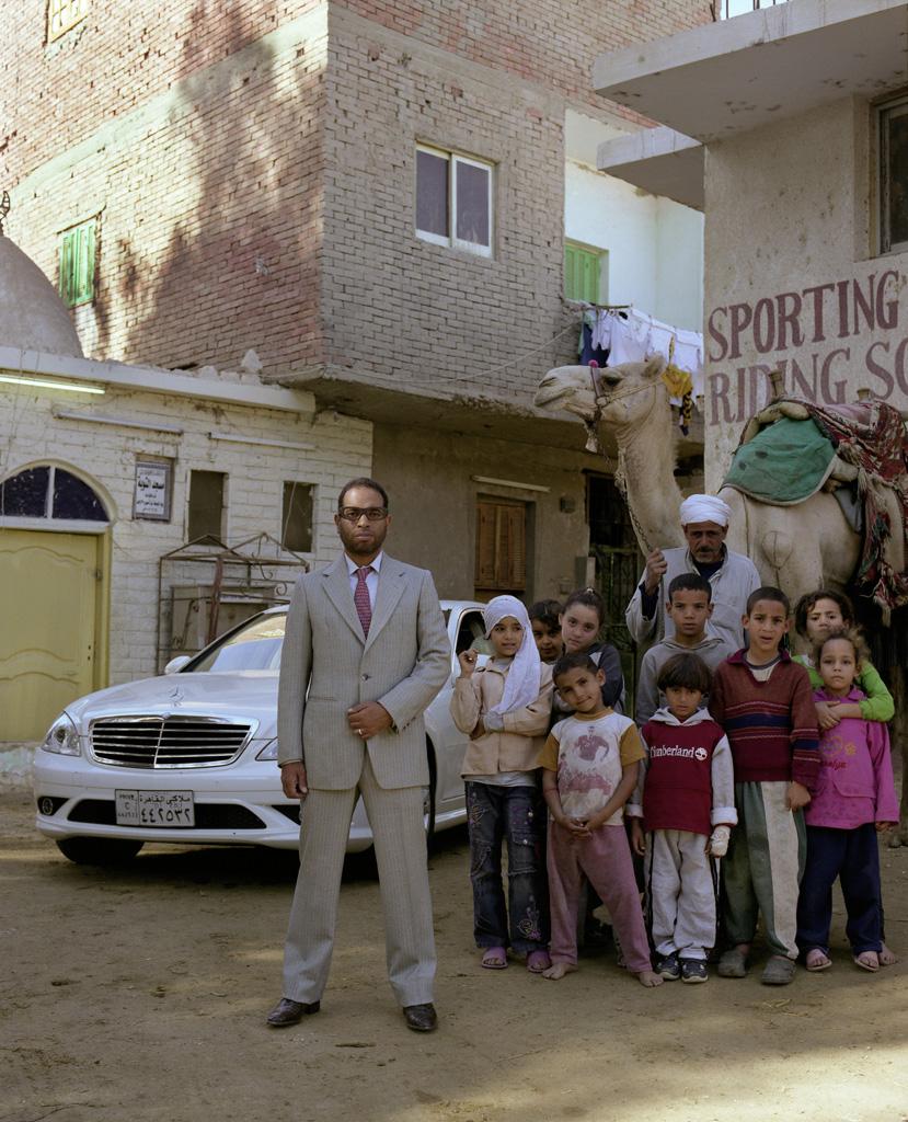 Mercedes SL en Barrio Kafr el Gabal, El Cairo.