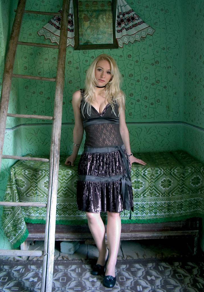 Anamaria Rahovean en Rumanía.