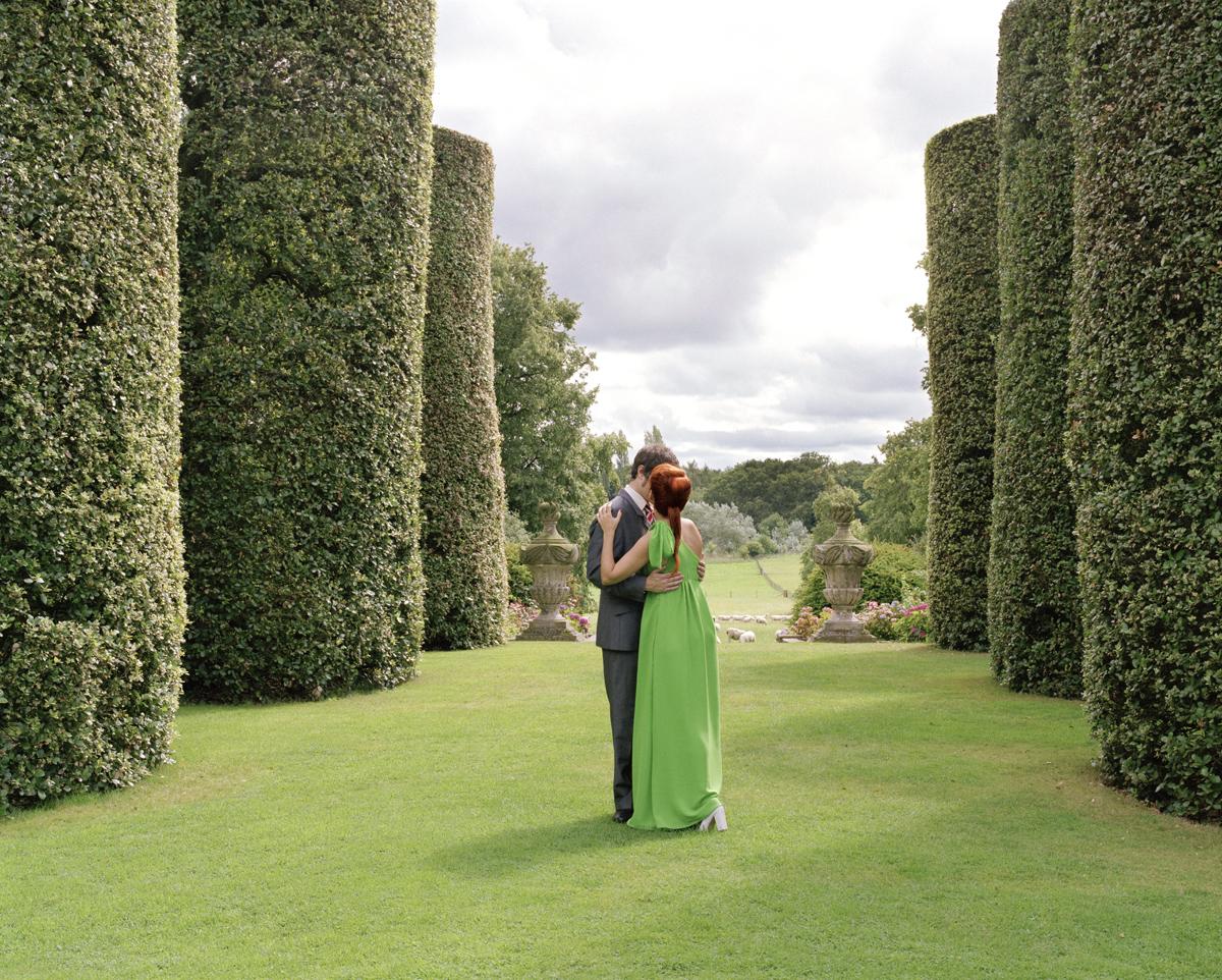 Idilio en Jardín Privado